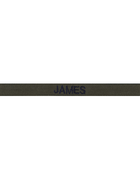 USAF Embroidered Subdued .5 inch Gortex Name Tape