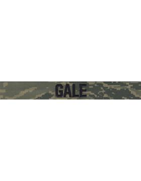 Air Force Name Tape Tiger Stripe (Regulation) Embroidered EMB-160B