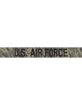 U.S. Air Force Embroidered ABU Tiger Stripe Branch Tape (Regulation)