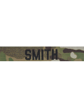 EMB-194A, Scorpion Name Tape without Fastener Embroidered