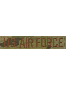 U.S. Air Force Embroidered Scorpion Branch Tape with Fastener