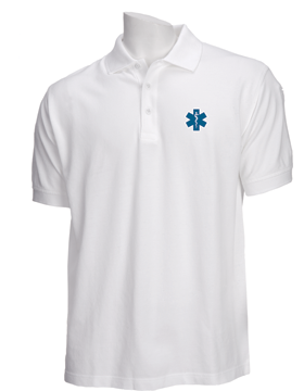 EMS Star of Life 5.11 Short Sleeve Professional Polo 41060