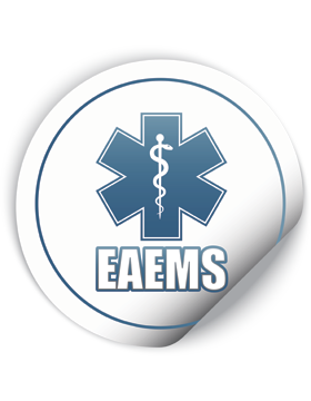 EAEMS Round Sticker