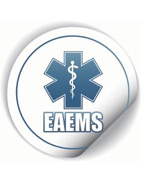 EAEMS Round Sticker
