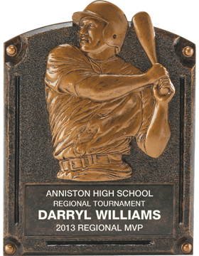 Baseball Legend of Fame Plaque