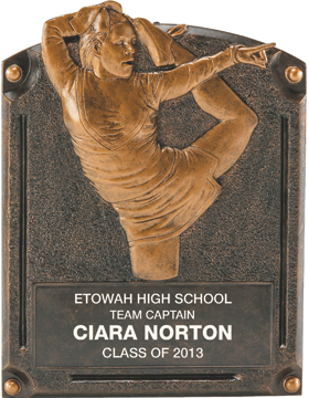 Cheer Legend of Fame Plaque