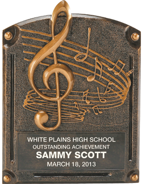 Music Legend of Fame Plaque