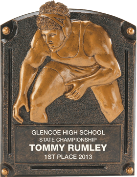 Wrestling Legend of Fame Plaque