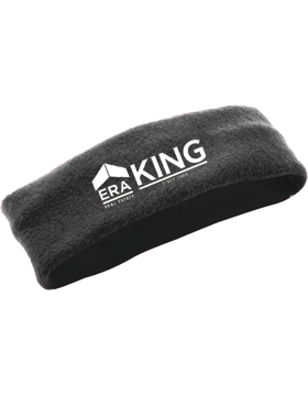 ERA King Chill Fleece Black Headband Earband 6745