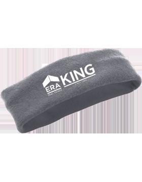 ERA King Chill Fleece Charcoal Heather Headband Earband 6745