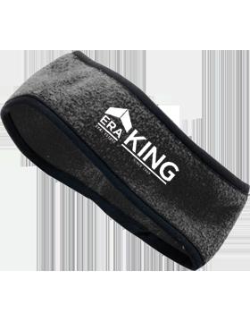 ERA King Chill Fleece Black Headband Earband 6753