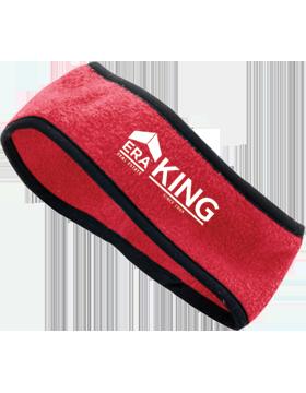 ERA King Chill Fleece Red Headband Earband 6753