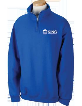 ERA King Quarter-Zip Royal Sweatshirt 995M