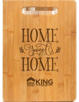 ERA King Bamboo Rectangle Cutting Board 13.75 x 9.75 in