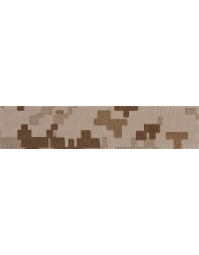 ET-204 Marpat Desert Marine 1in Name Tape (75 Yds) Nyco Twill