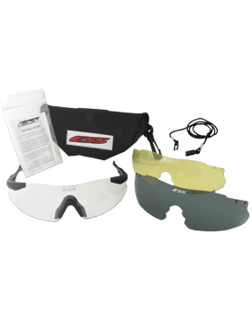 Ice Eye Shields with 3 Lens Clear/Smoke/Hi-Def Yellow and Case ICE