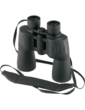 Black 10 X 50MM Waterproof Binoculars Blue Coated 10278