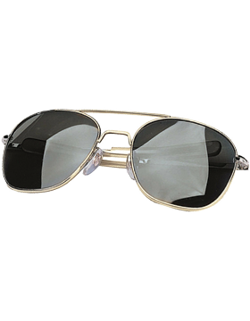 Aviator Sunglasses 58mm Smoke Lenses & Gold Frame 10804G