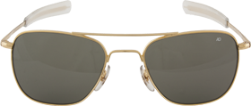 Aviator Sunglasses 52mm Smoke Lenses & Gold Frame 10604G small