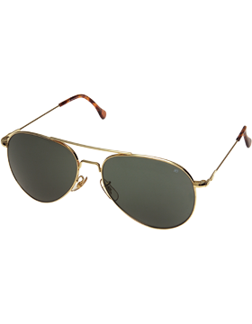 Generals Sunglasses 58mm Gray Lenses & Gold Frame EYE-R/10702G