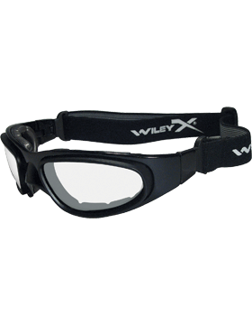 Military Low Profile SG-1M Ballistic Goggles with  Smoke & Clear Lenses SG-1M