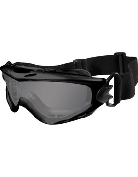 WX Spear Goggles Smoke Grey - Clear Lens - Matte Black
