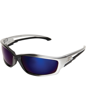 Kazbek Blue Mirror Edge-Flex Sunglasses EYE-WOLF/SK118