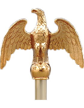 Eagle with Antique Gold Plated Finish