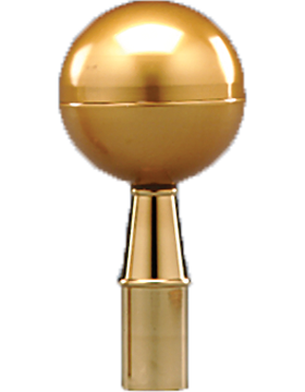 6.5in Gold Ball