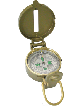 Metal Lensatic Compass F-3922