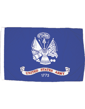 US Army Field Flag Applique Indoor without Fringe