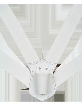 Flag Carrier, Double Strap White Webbing