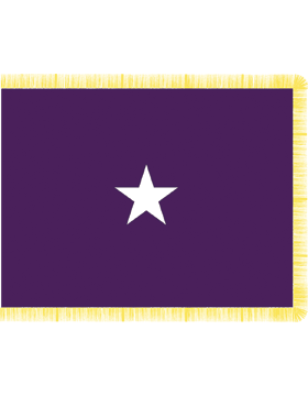 Army General Flag Pole Hem No Fringe - Chaplain