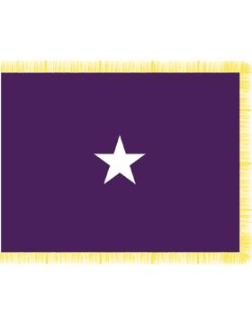 Army General Flag Pole Hem No Fringe - Chaplain
