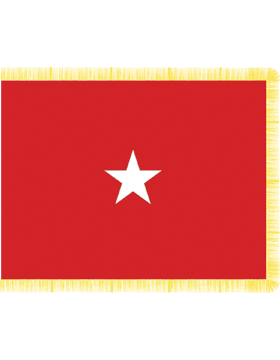 Army General Flag Pole Hem No Fringe - Army
