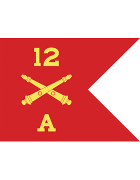 Custom Guidon Field Artillery