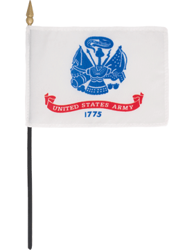 Mini Flag (F-MB01/P) U.S. Army 4