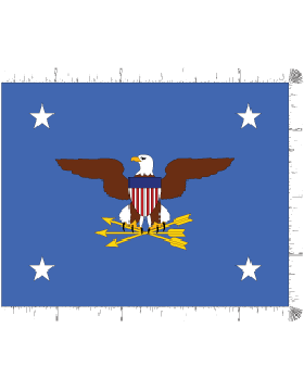 Positional Flag F-P/1-03 Secretary of Defense 4 ft 4 in x 5 ft 6 in