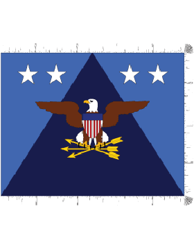 Positional Flag F-P/1-05 Under Secretary of Defense 4 ft 4 in x 5 ft 6 in