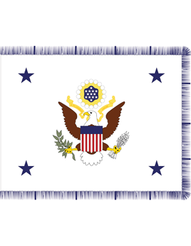 Positional Flag Asst. Secretary of the Army 4 ft 4 in x 5 ft 6 in