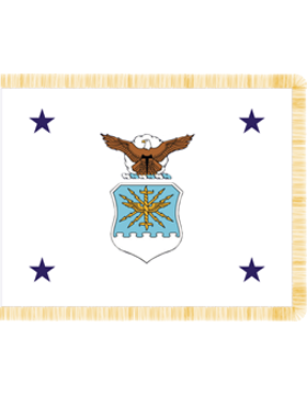 Positional Flag F-P/3-02 Under Sec Air Force 4 ft 4 in x 5 ft 6 in