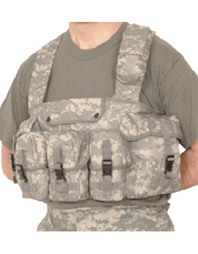 7 Pocket Chest Rig ACU F2247