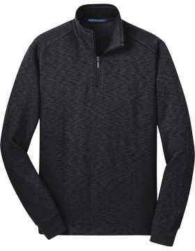 Port Authority® Slub Fleece Quarter Zip Pullover F295