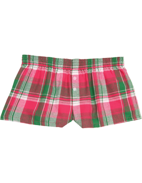 Flannel Bitty Boxer F40 Watermelon