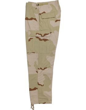 BDU Trouser 3 Desert Camo 100 Ctn Ripstop 1898004