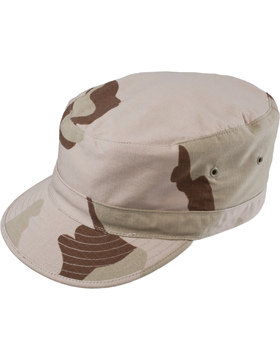 BDU Patrol Cap 3 Color Desert Camo F5505 small