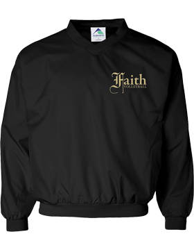 Faith Christian Lions Micro Poly Windshirt 3415