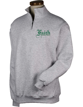 Faith Christian Lions Quarter-Zip Sweatshirt 995M