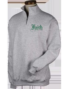 Faith Christian Lions Quarter-Zip Sweatshirt 995M