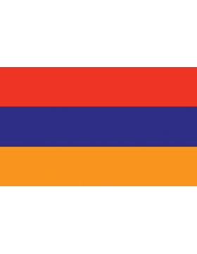Outdoor Flag Armenia (8) 5'x8' No Fringe